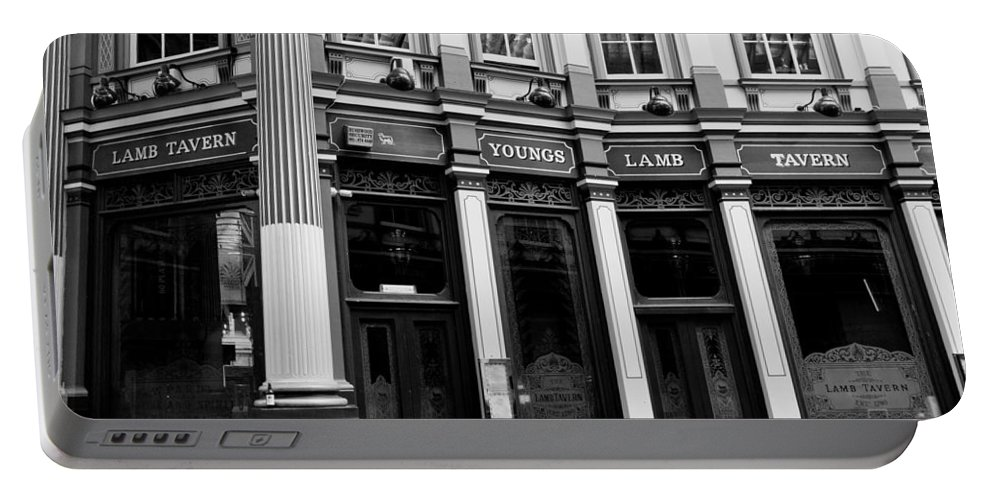 Leadenhall Portable Battery Charger featuring the photograph Leadenhall Market London by David Pyatt