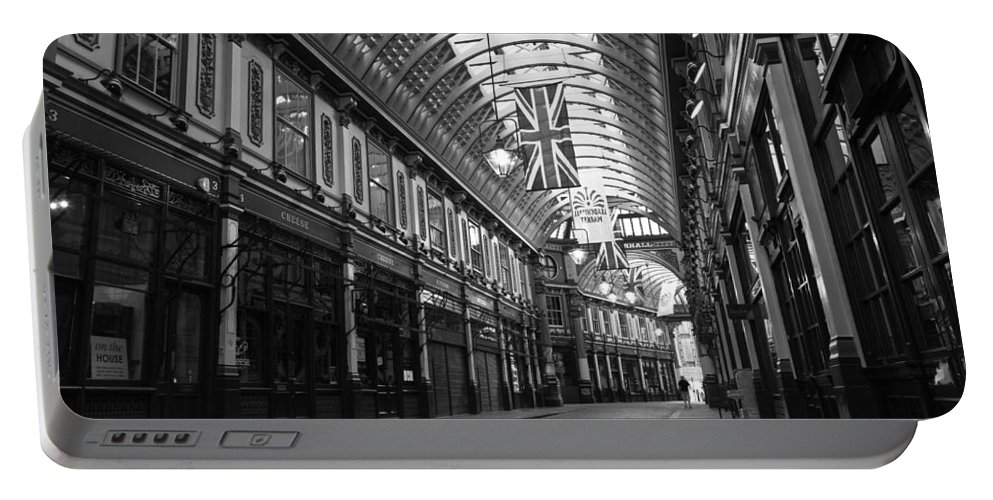 Leadenhall Portable Battery Charger featuring the photograph Leadenhall Market London by David Pyatt
