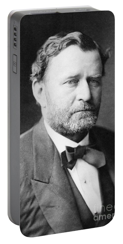 History Portable Battery Charger featuring the photograph Ulysses S. Grant, 18th American by Photo Researchers
