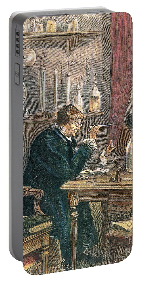 History Portable Battery Charger featuring the photograph Benjamin Franklin, American Polymath by Science Source