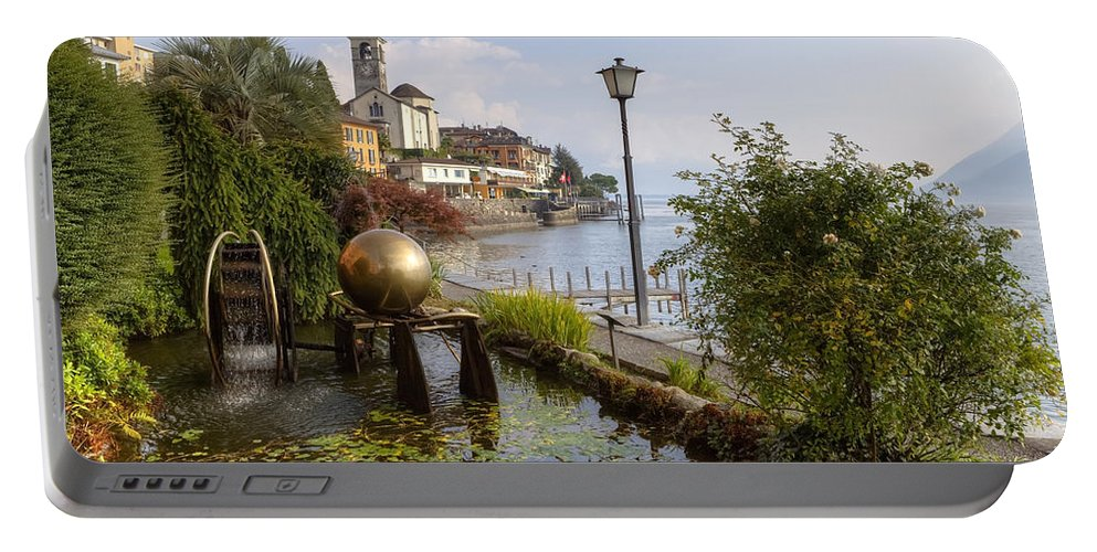 Brissago Portable Battery Charger featuring the photograph Brissago - Ticino by Joana Kruse