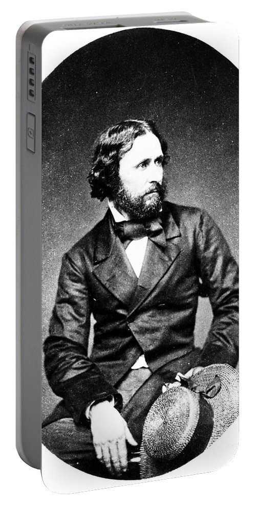 19th Century Portable Battery Charger featuring the photograph John C. Fremont (1813-1890) by Granger