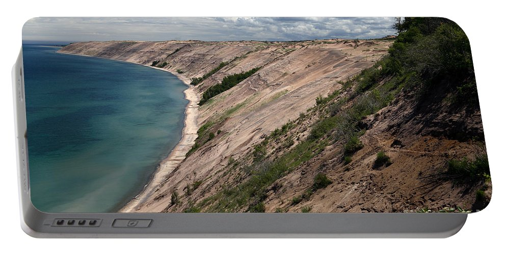 National Park Portable Battery Charger featuring the photograph Lake Superior by Ted Kinsman