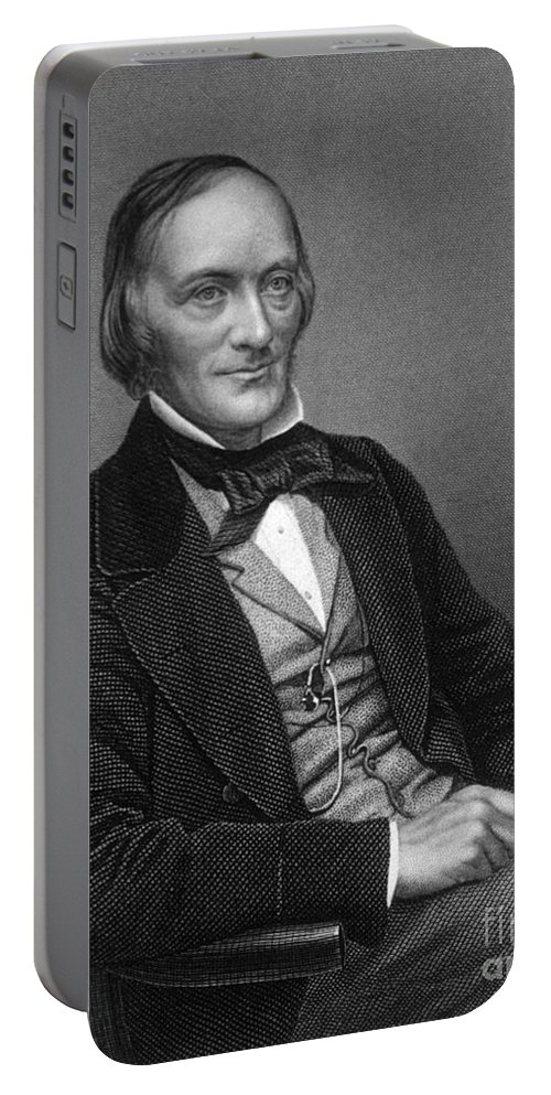 Science Portable Battery Charger featuring the photograph Richard Owen, English Paleontologist by Science Source