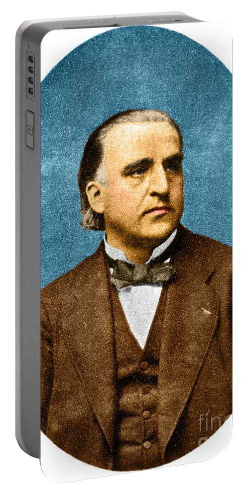 History Portable Battery Charger featuring the photograph Jean-martin Charcot, French Neurologist by Science Source