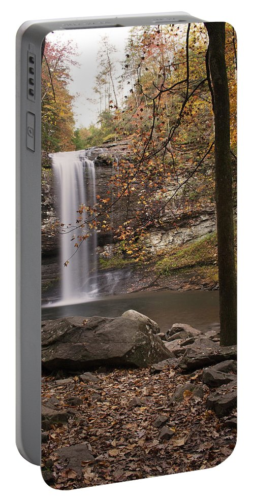 Waterfall Portable Battery Charger featuring the photograph Waterfall by David Troxel