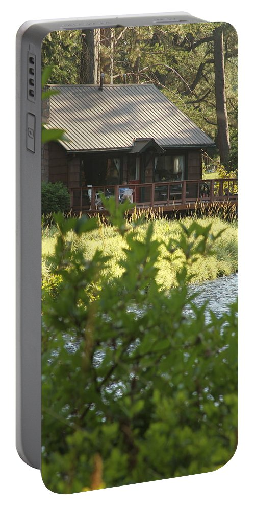 House Portable Battery Charger featuring the photograph A Place Of Rest by Laddie Halupa