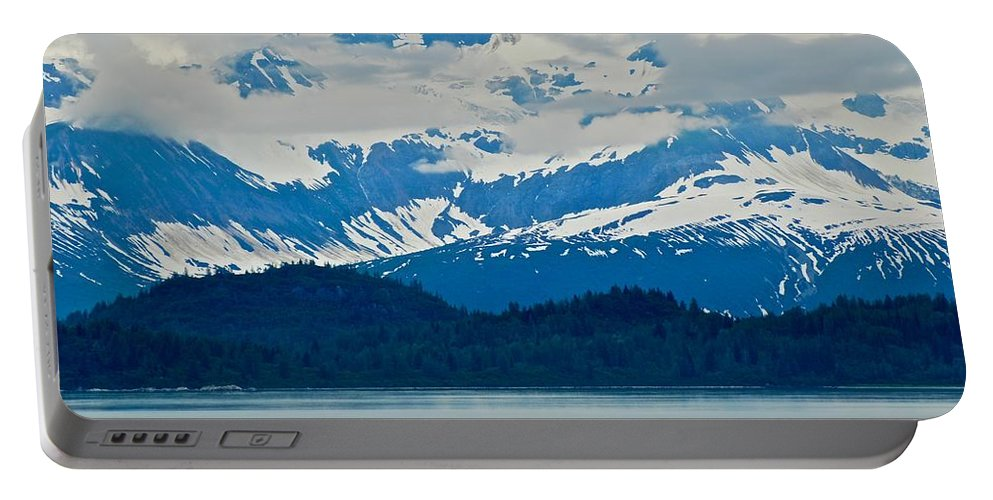 Alaska Portable Battery Charger featuring the photograph A Slice Of Alaska by Eric Tressler
