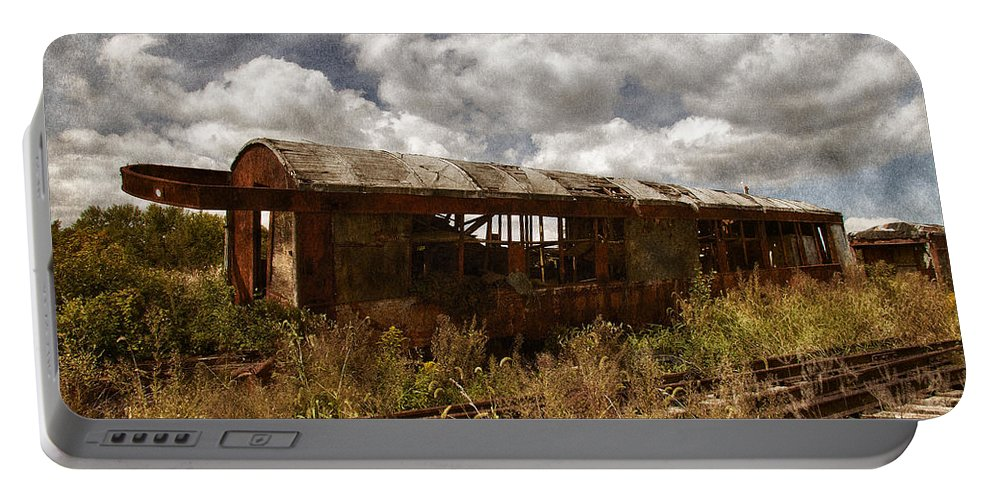 Transit Portable Battery Charger featuring the photograph Abandoned by Dale Kincaid