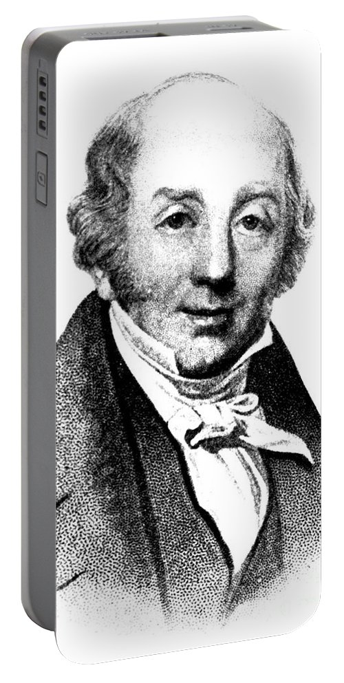 Science Portable Battery Charger featuring the photograph Abraham Colles, Irish Surgeon & by Science Source