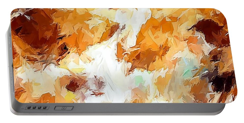 Graphics Portable Battery Charger featuring the digital art Abs 0265 by Marek Lutek