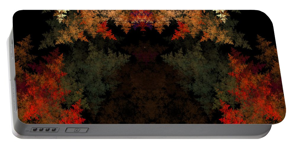 Fractal Digital Art Portable Battery Charger featuring the photograph Abstract 178 by Mike Nellums