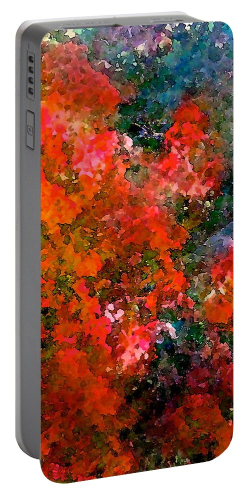 Abstract Portable Battery Charger featuring the photograph Abstract 269 by Pamela Cooper