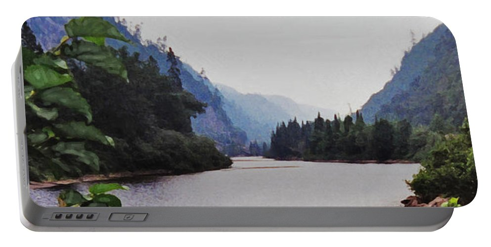 Agawa Portable Battery Charger featuring the photograph Agawa by Ian MacDonald