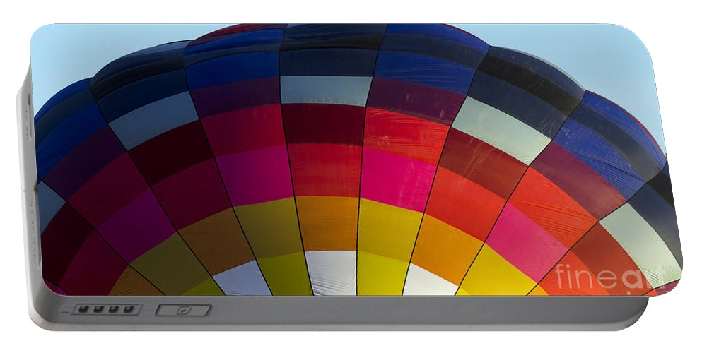 Hot Air Balloon Portable Battery Charger featuring the photograph Air Balloon 1554 by Terri Winkler