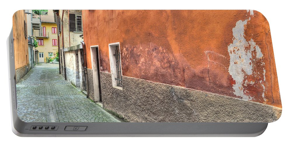Alley Portable Battery Charger featuring the photograph Alley by Mats Silvan