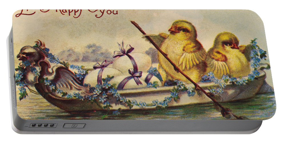19th Century Portable Battery Charger featuring the photograph American Easter Card by Granger