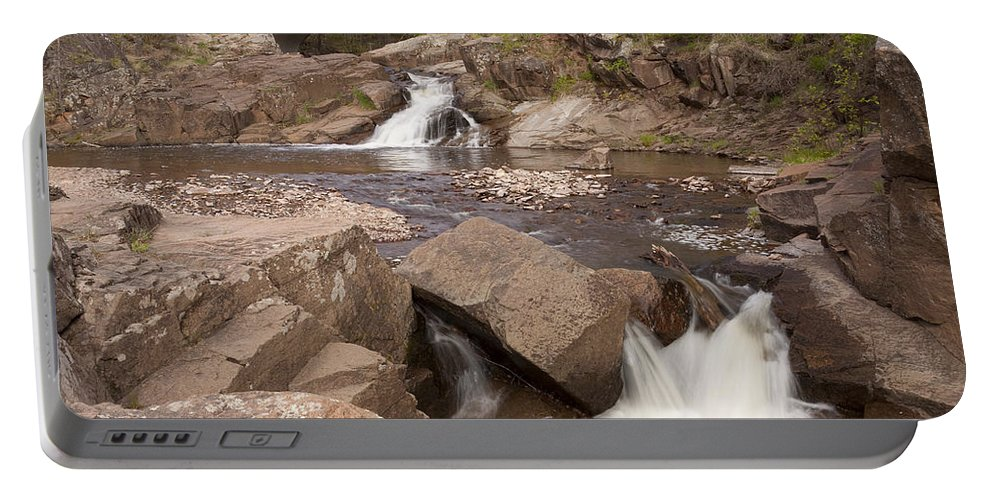 Amity Portable Battery Charger featuring the photograph Amity Creek Scene 8 by John Brueske