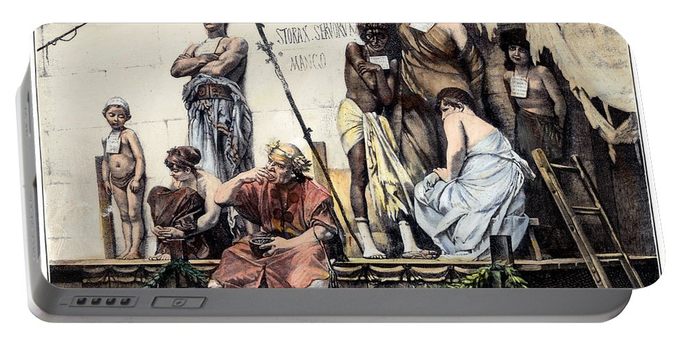 Ancient Rome: Slave Market Portable Battery Charger for ...