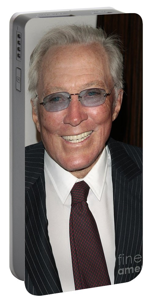 Photography Portable Battery Charger featuring the photograph Andy Williams by Nina Prommer