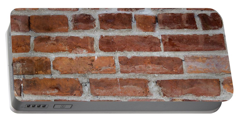 Brick Portable Battery Charger featuring the photograph Another Brick In The Wall by Heidi Smith