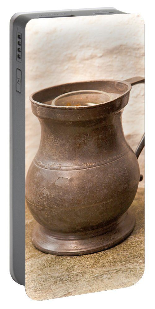 Antique Portable Battery Charger featuring the photograph Antique Jug by Tom Gowanlock