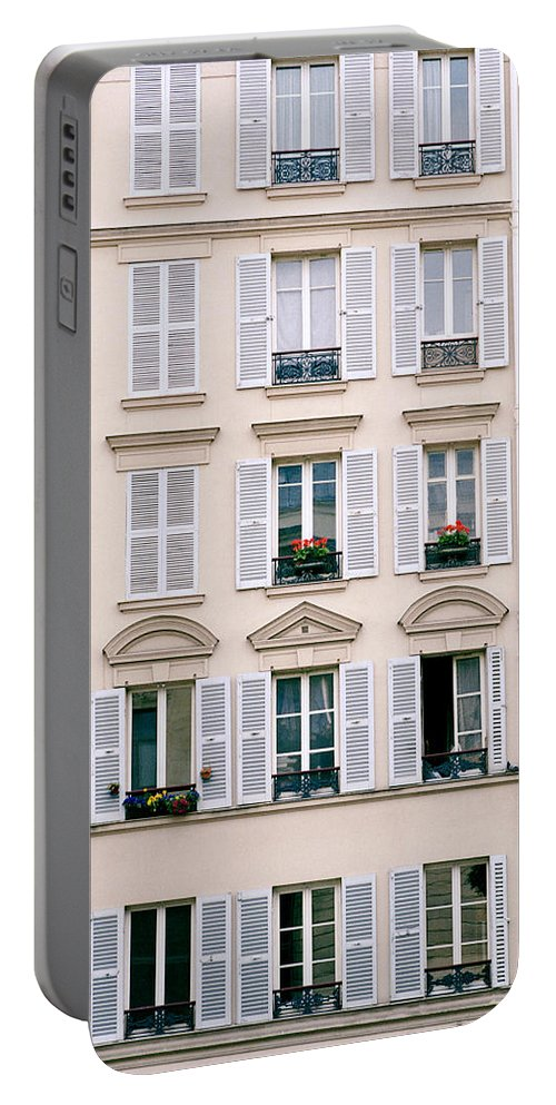 Paris Portable Battery Charger featuring the photograph Paris Life by Shaun Higson