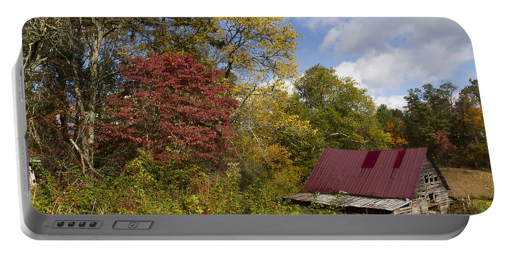 American Portable Battery Charger featuring the photograph Appalachian Autumn by Debra and Dave Vanderlaan