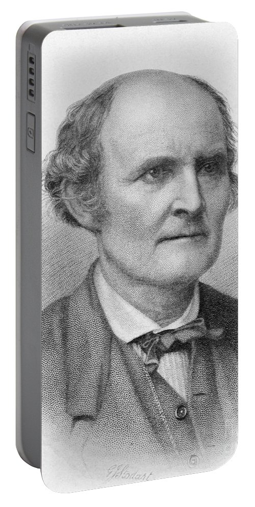 Science Portable Battery Charger featuring the photograph Arthur Cayley, English Mathematician by Science Source