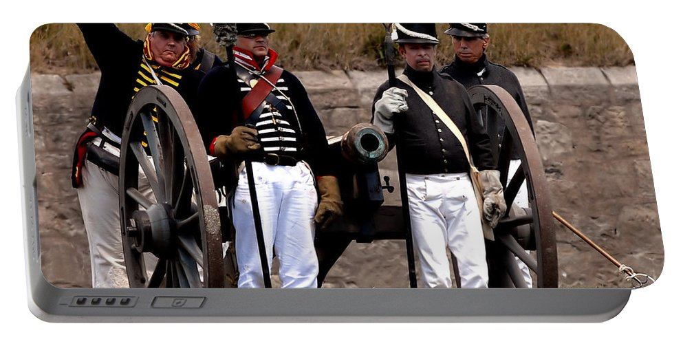 Artillery Portable Battery Charger featuring the photograph Artillery by JT Lewis