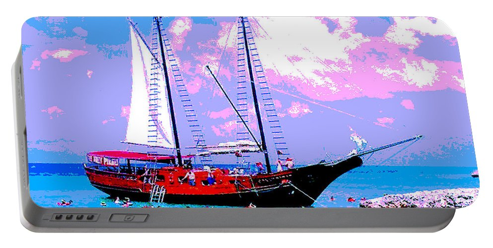 Aruba Portable Battery Charger featuring the photograph Aruba Adventure by Jerome Stumphauzer