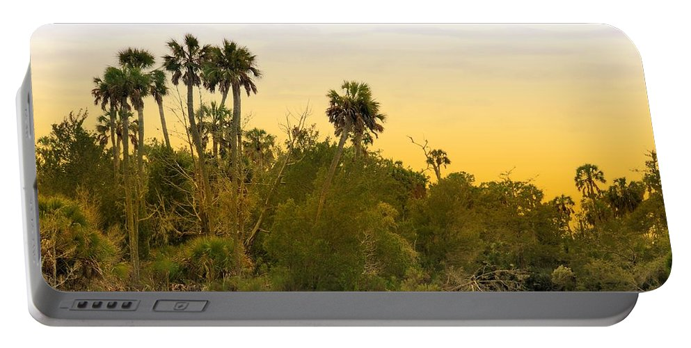 Landscapes Portable Battery Charger featuring the photograph As Evening Ends by Jan Amiss Photography