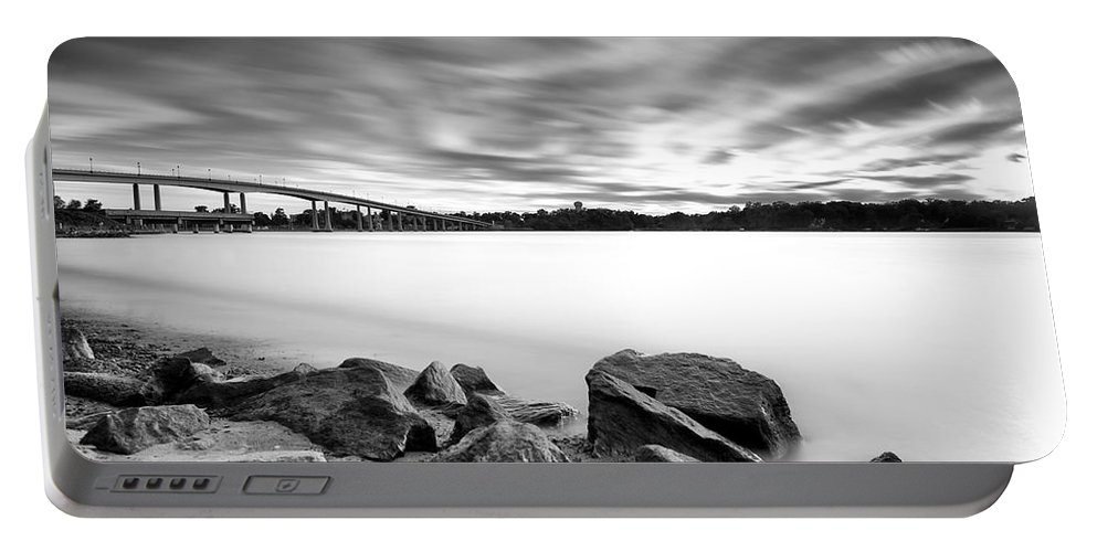 Sunset Portable Battery Charger featuring the photograph At The End Of The Day by Edward Kreis