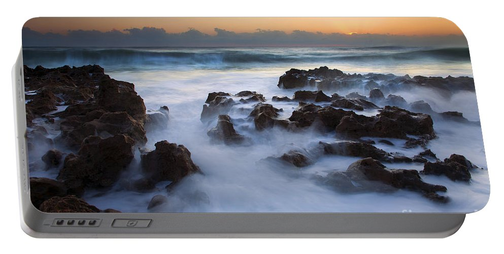 Coral Cove Portable Battery Charger featuring the photograph Atlantic Dawning by Mike Dawson