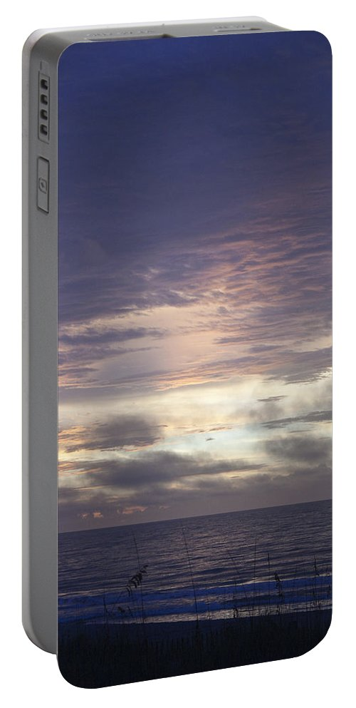 Sunrise Portable Battery Charger featuring the photograph Atlantic Ocean Sunrise 1 by Teresa Mucha