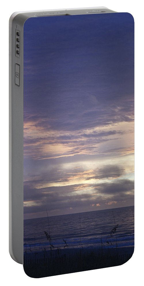 Sunrise Portable Battery Charger featuring the photograph Atlantic Ocean Sunrise 2 by Teresa Mucha