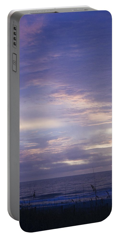 Sunrise Portable Battery Charger featuring the photograph Atlantic Ocean Sunrise 3 by Teresa Mucha