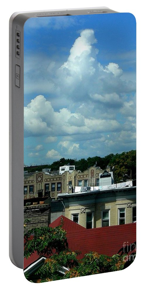 Clouds Portable Battery Charger featuring the photograph August 4 2008 by Mark Gilman