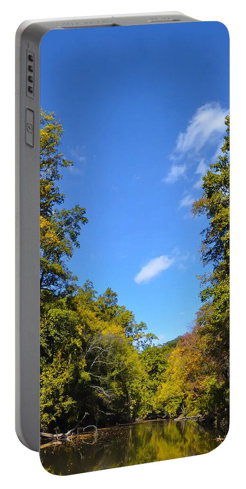 Autumn Portable Battery Charger featuring the photograph Autumn In Pennsylvania by Bill Cannon