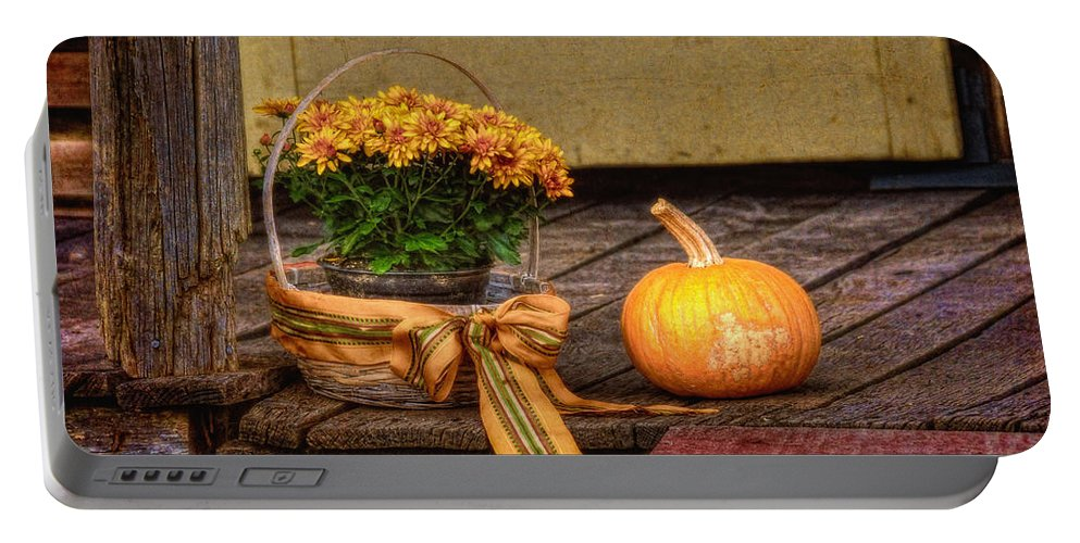 Autumn Portable Battery Charger featuring the photograph Autumn by Lois Bryan