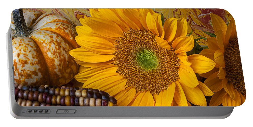 Autumn Portable Battery Charger featuring the photograph Autumn Still Life by Garry Gay