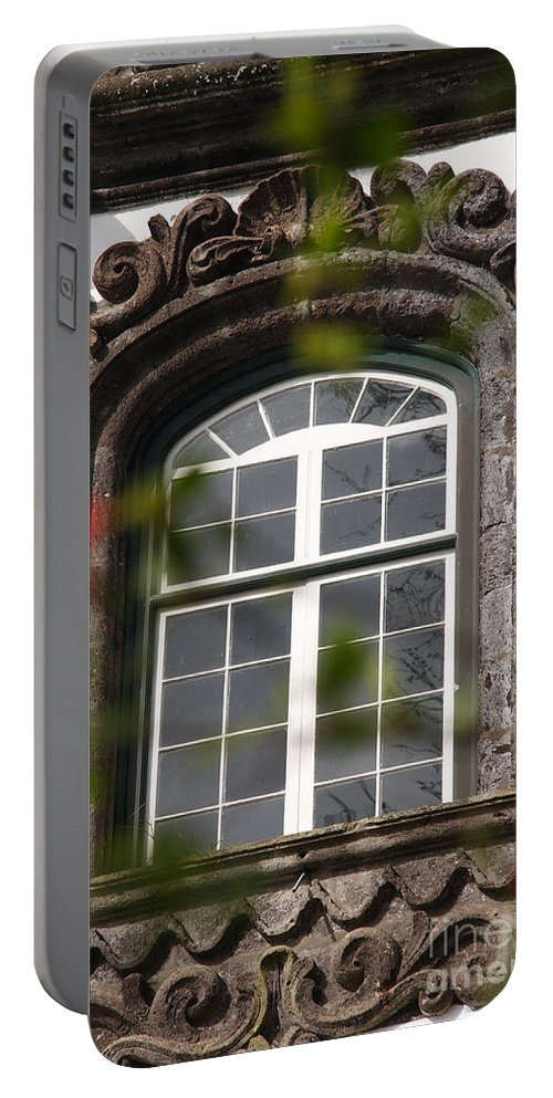 Baroque Art Portable Battery Charger featuring the photograph Baroque Style Window by Gaspar Avila