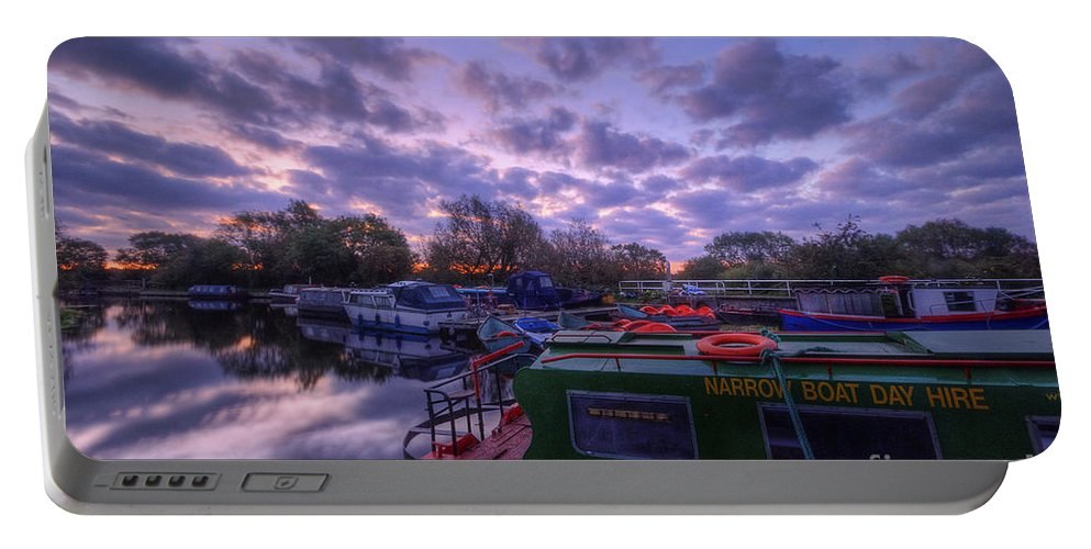 Hdr Portable Battery Charger featuring the photograph Barrow Boats 2.0 by Yhun Suarez