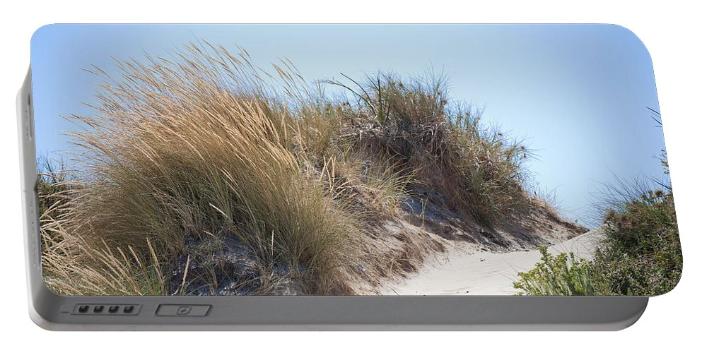 Beach Portable Battery Charger featuring the photograph Beach Sand Dunes I by Michelle Wrighton