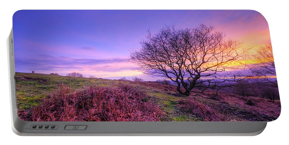 Art Portable Battery Charger featuring the photograph Beacon Hill Sunrise 1.0 by Yhun Suarez