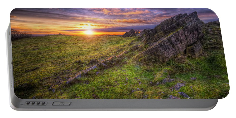 Art Portable Battery Charger featuring the photograph Beacon Hill Sunrise 11.0 by Yhun Suarez