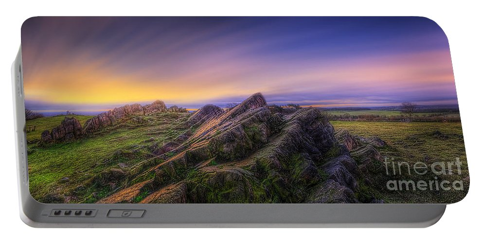 Panorama Portable Battery Charger featuring the photograph Beacon Hill Sunrise 7.0 by Yhun Suarez