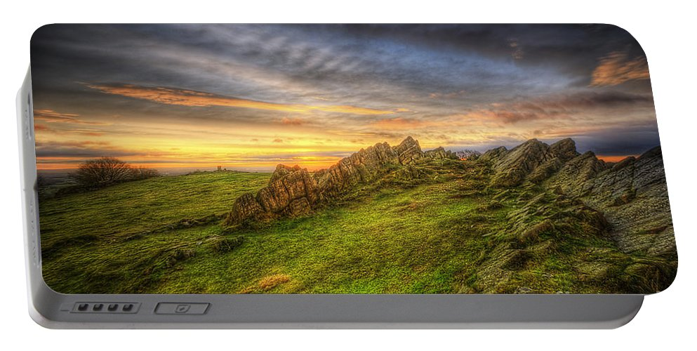 Art Portable Battery Charger featuring the photograph Beacon Hill Sunrise 9.0 by Yhun Suarez