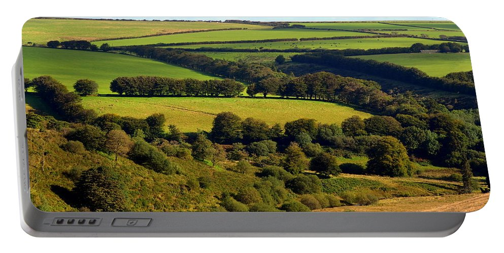 Somerset Portable Battery Charger featuring the photograph Beautiful Somerset by Carla Parris