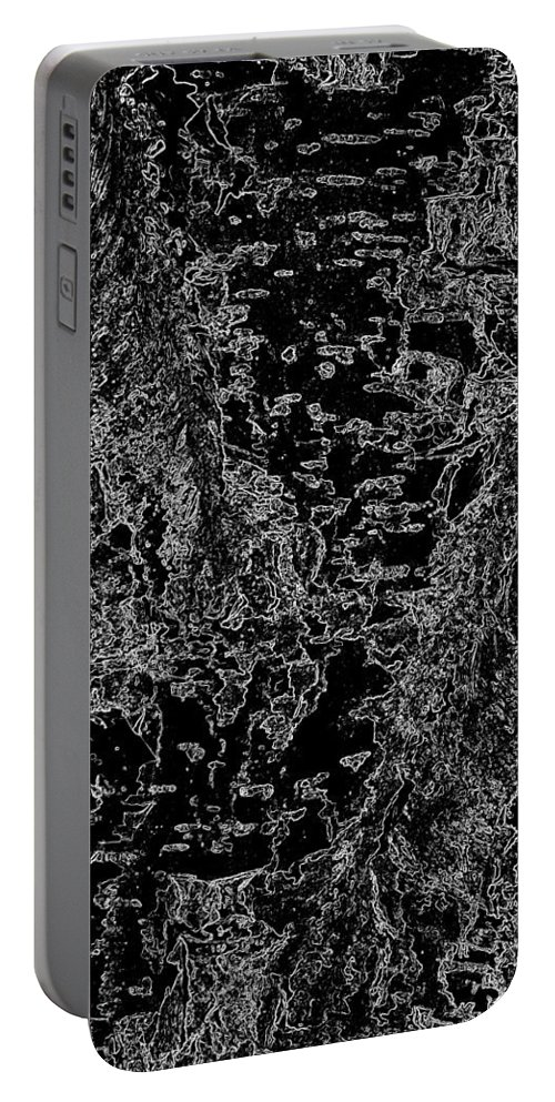 Beech Portable Battery Charger featuring the digital art Beech Tree Digital Art by David Pyatt